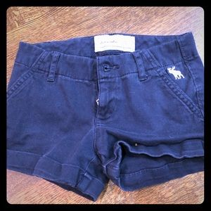 Abercrombie and Fitch blue shorts